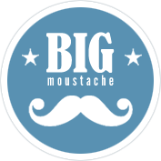 logo big moustache