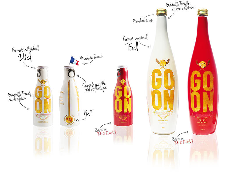 go on by trendy drink
