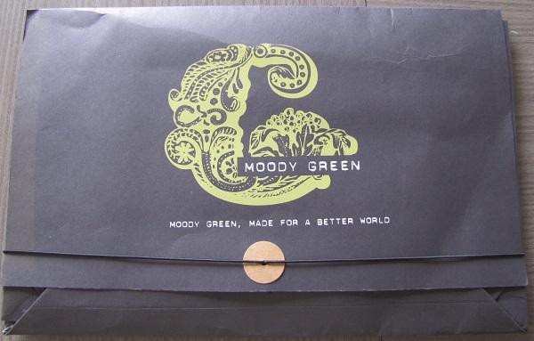 pochette moody green