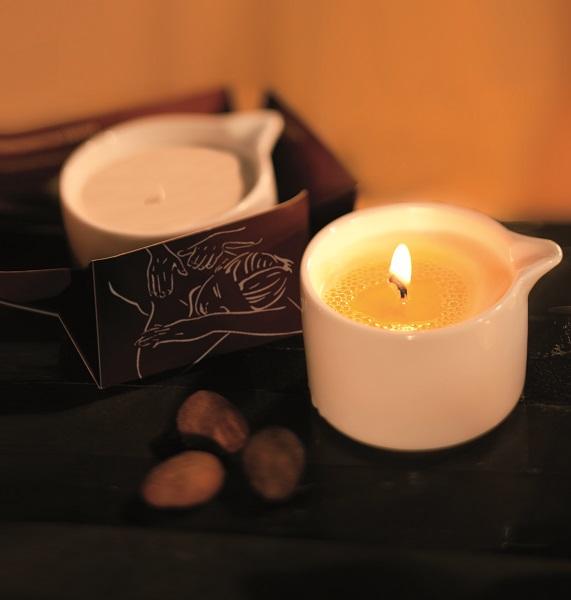 Bougie de massage Karethic