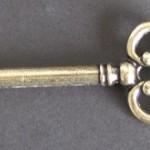 clé pour ouvrir le coffret Zubrowka