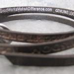 intérieur du bracelet good works