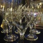 soirée 1664 - verre millésime