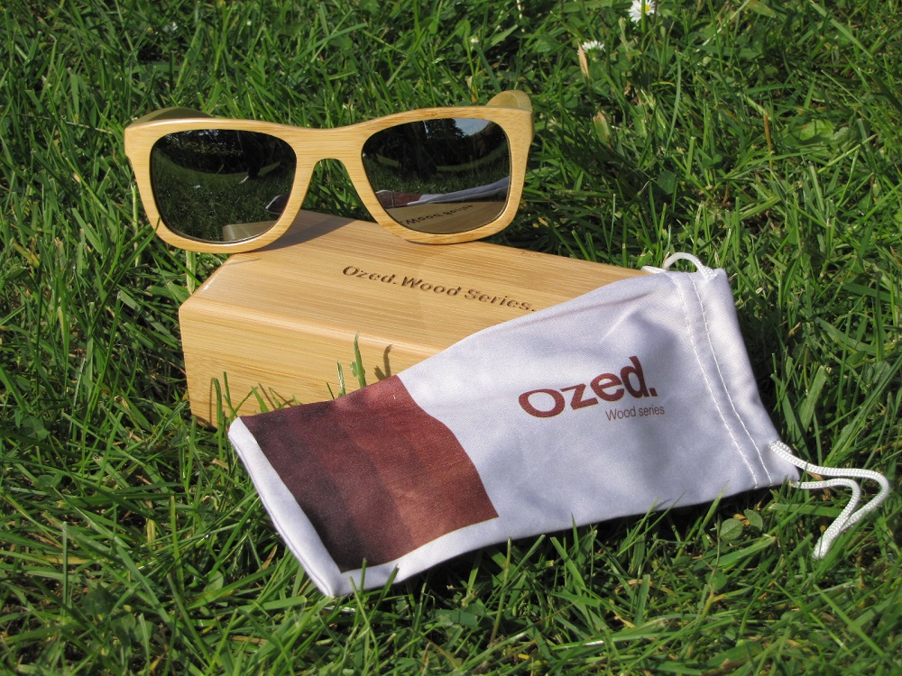 ozed eyewear et pochette transport