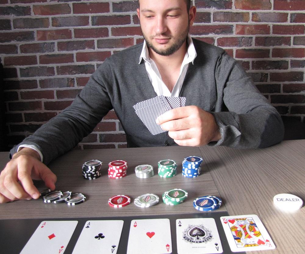 partie de poker avec JAQK