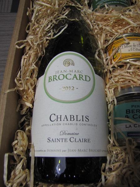 chablis Saint Claire - mets vins