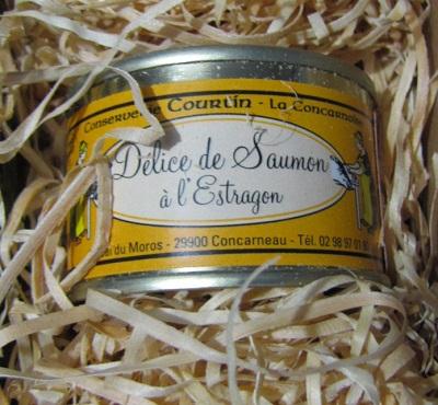 delice saumon estragon - mets vins