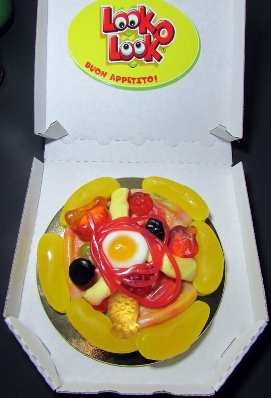 pizza bonbons look o look