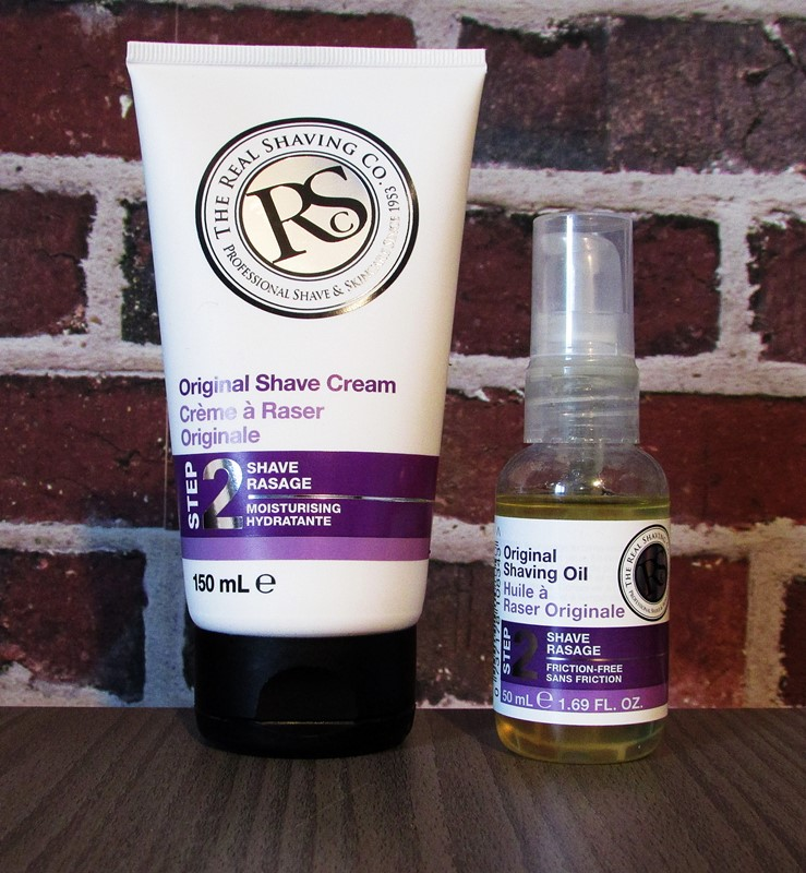 real shaving co creme et huile a raser