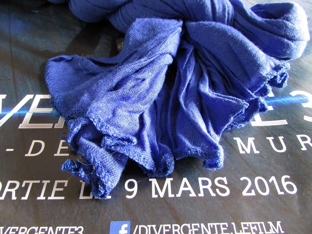 bandit box foulard bleu