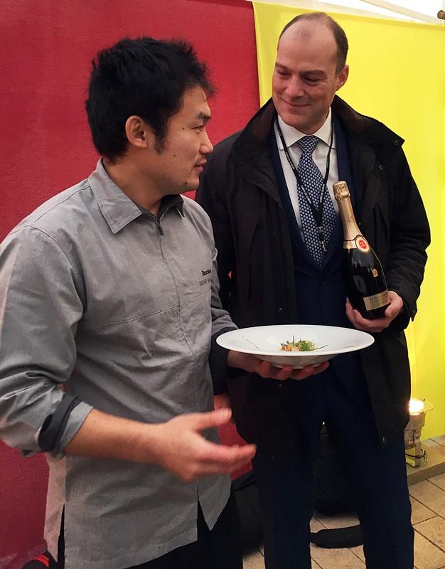 Kazuyuki TANAKA et Lionel ROQUES-BOIZEL