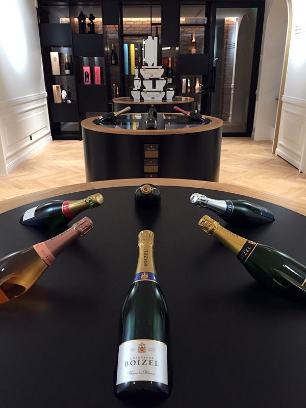 boutique champagne Boizel
