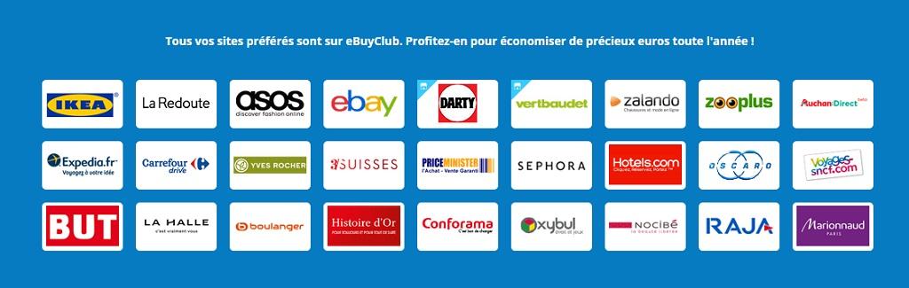 selection de sites cashback