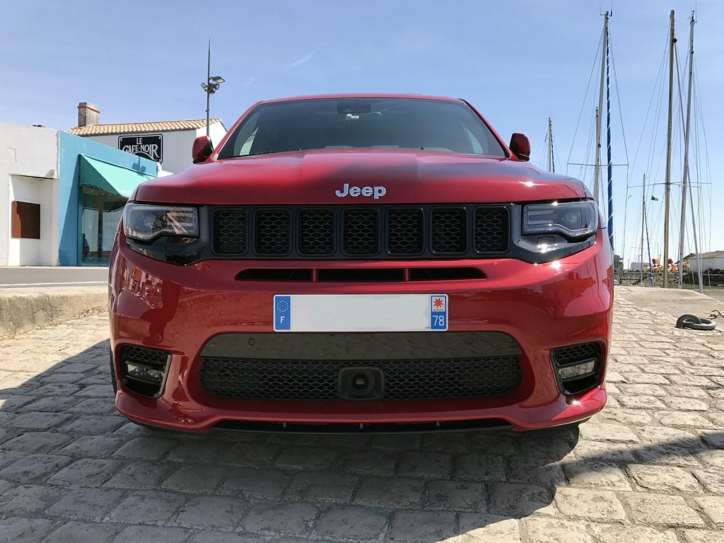 jeep grand cherokee srt vue avant
