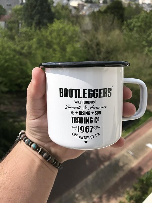 mug bootleggers wild turquoise