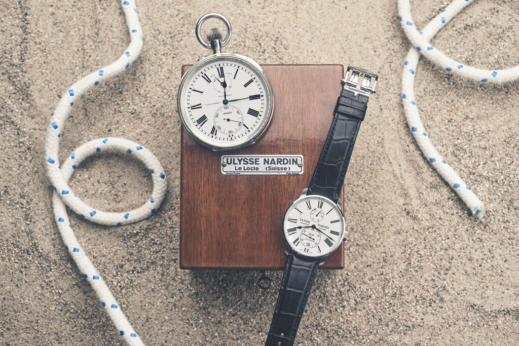 ulysse nardin marine torpilleur chronometre de poche