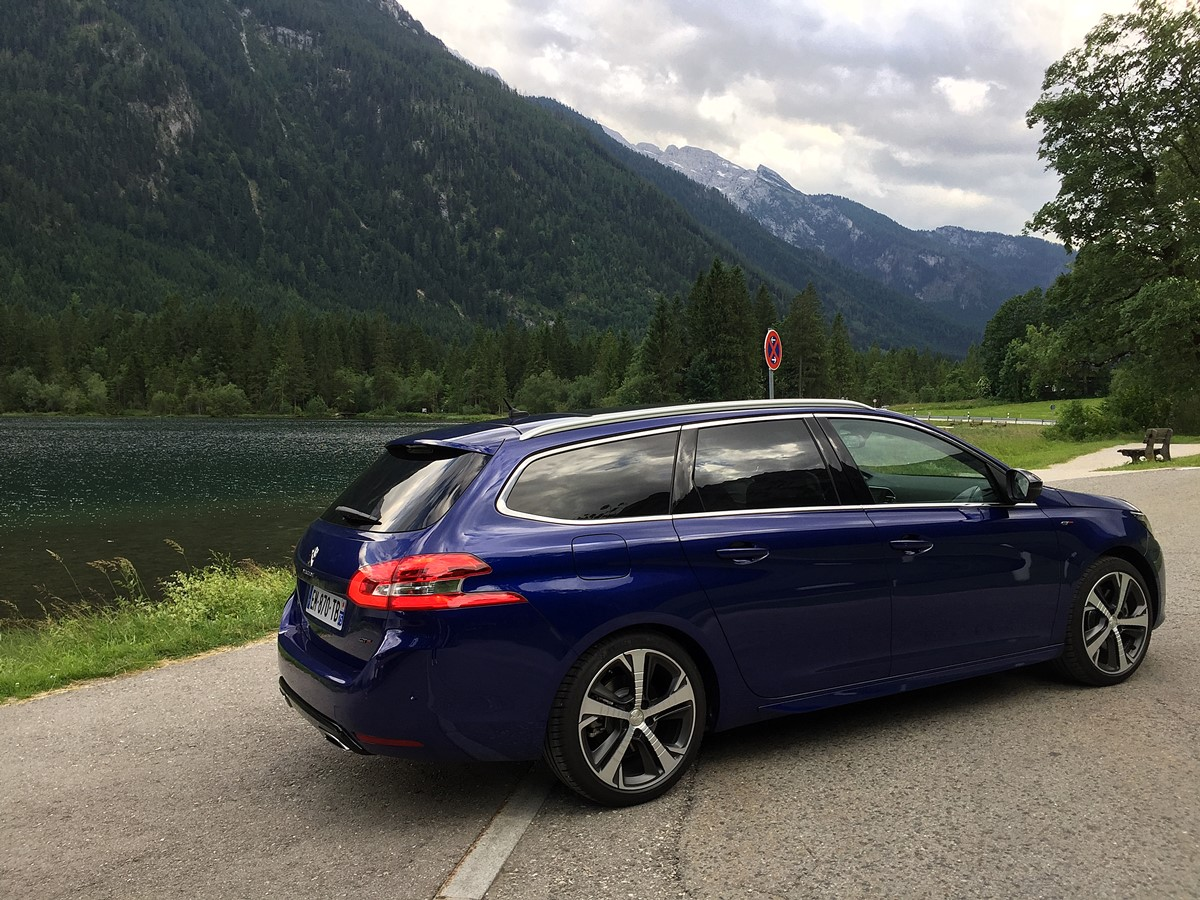 peugeot 308 sw gt lac hintersee