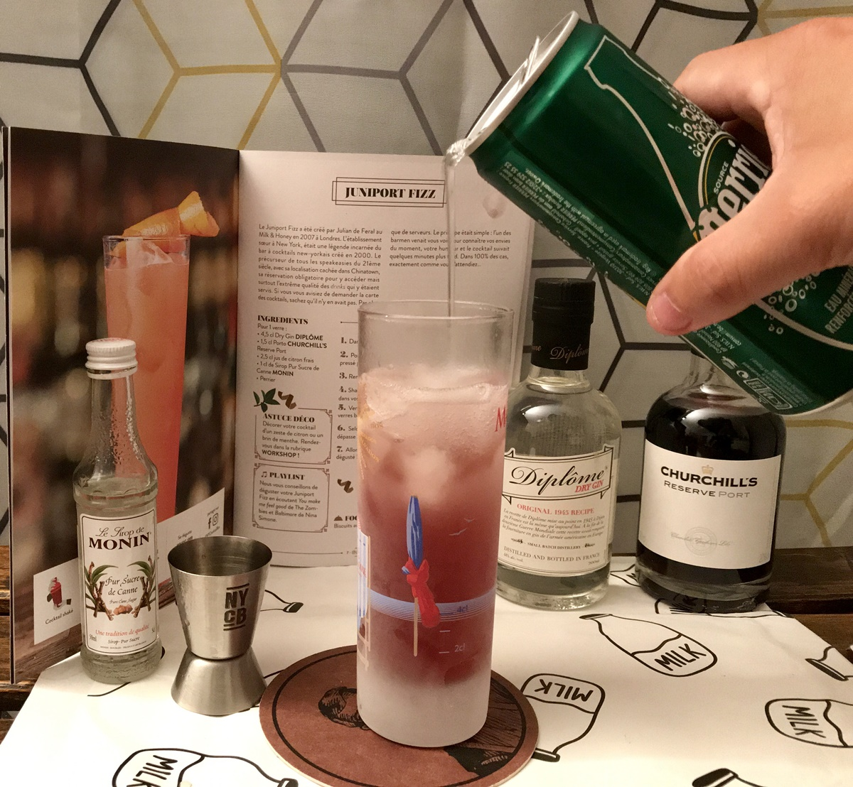 cocktail box perrier