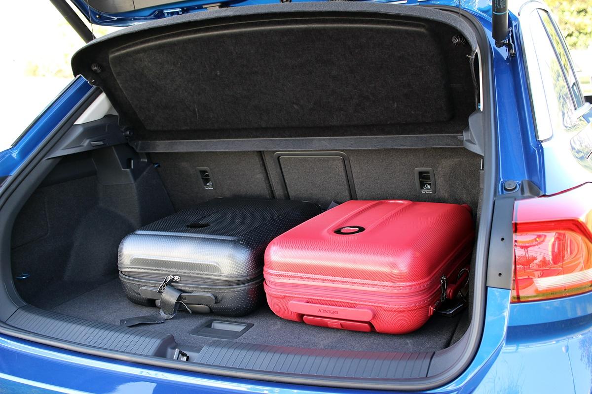 vw t-roc coffre 445 litres
