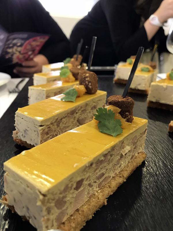 brossard traiteur - opera foie gras