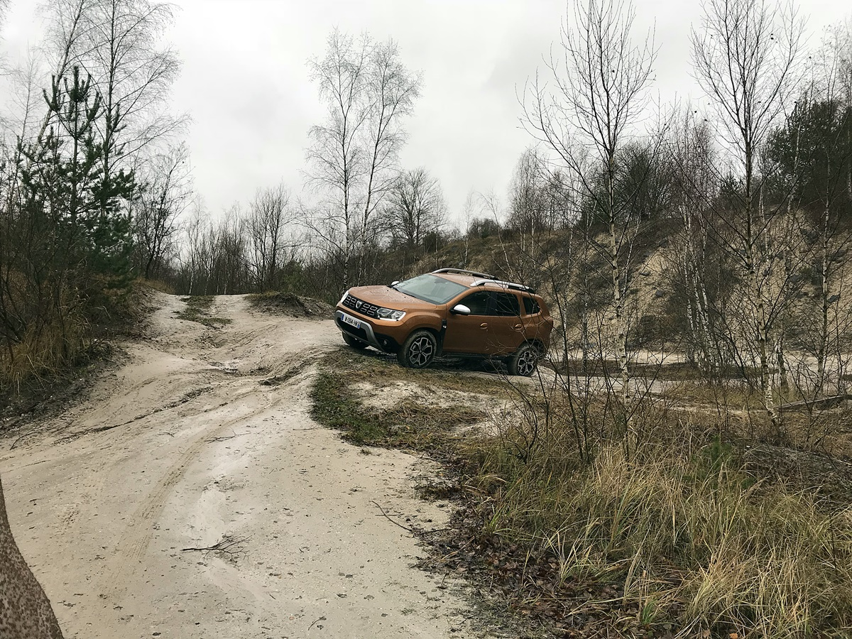 dacia duster session offroad