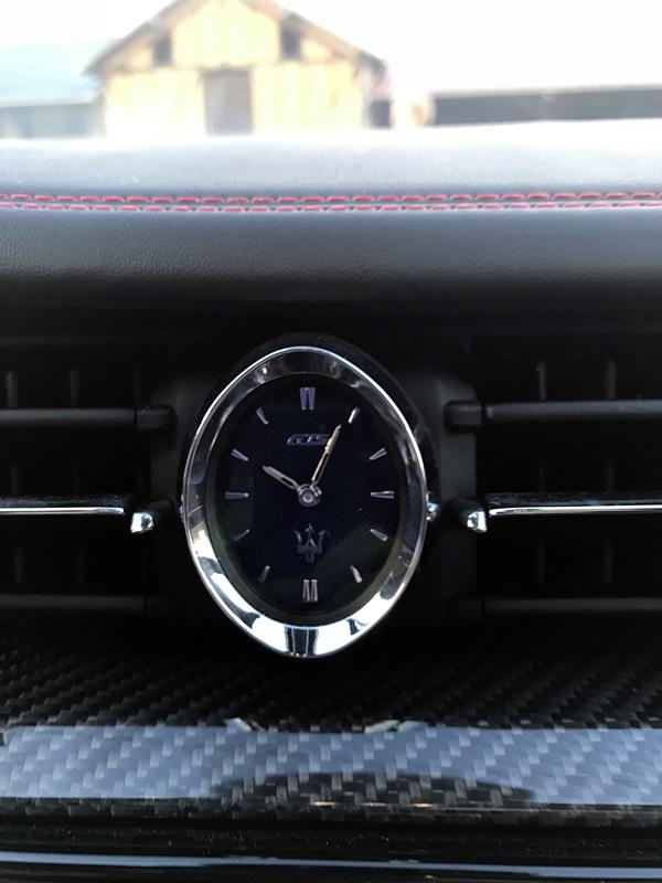 maserati horloge Quattroporte