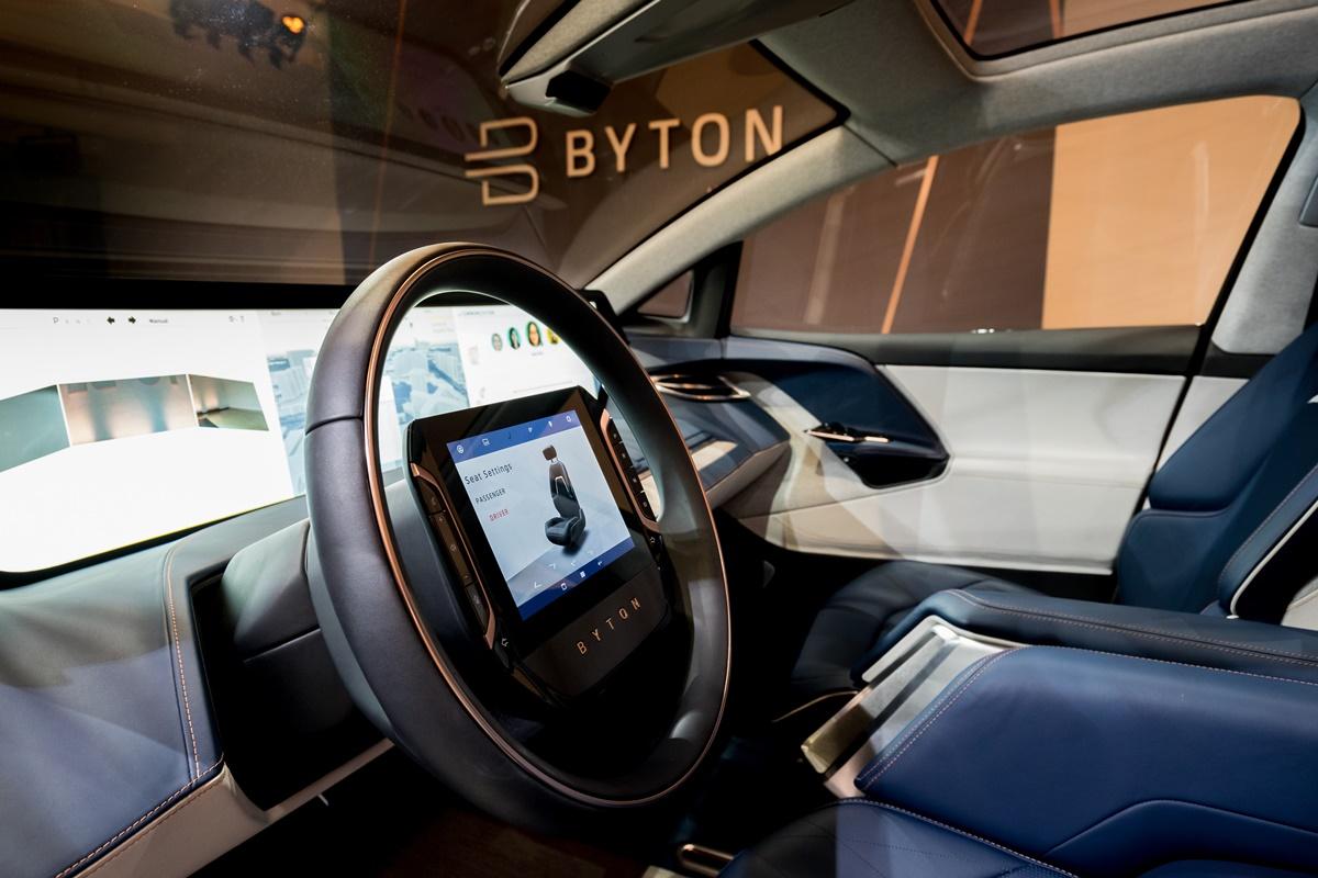 BYTON - ecran 125 x 25 cm