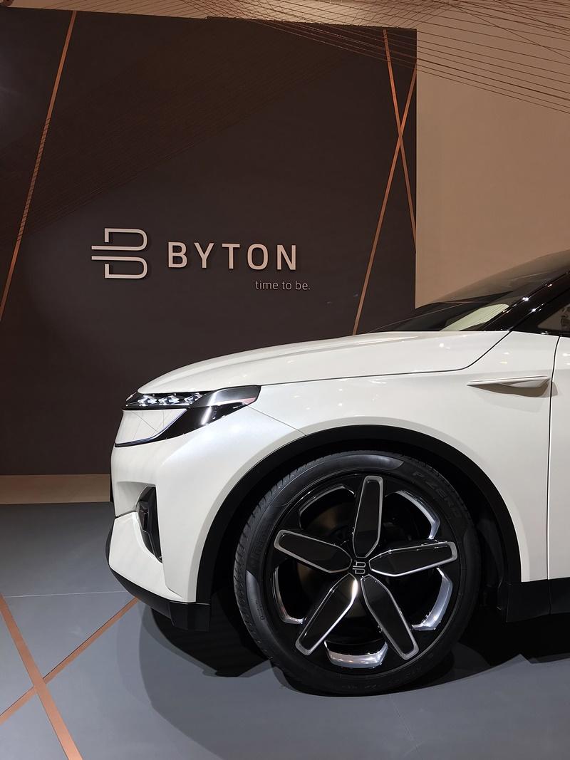 BYTON - profil avant