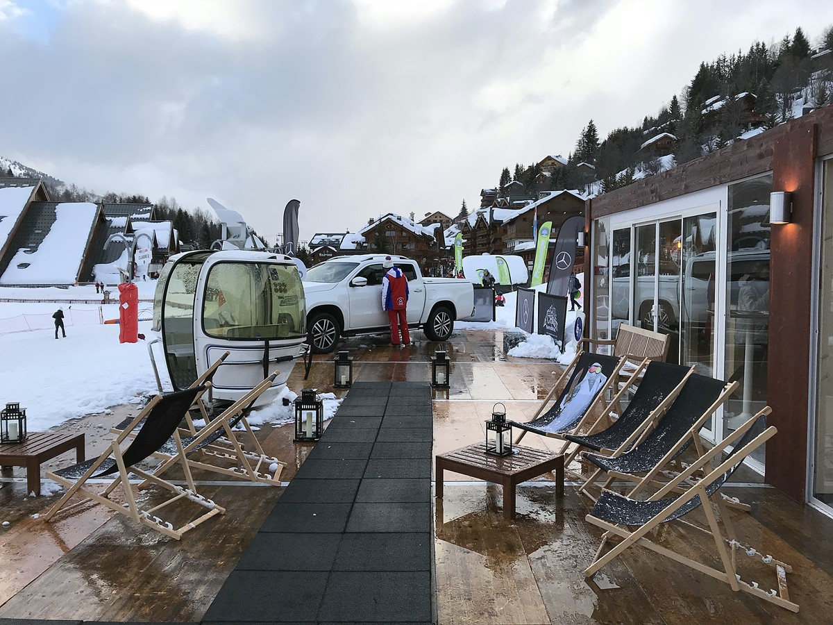 mercedes-benz chalet meribel
