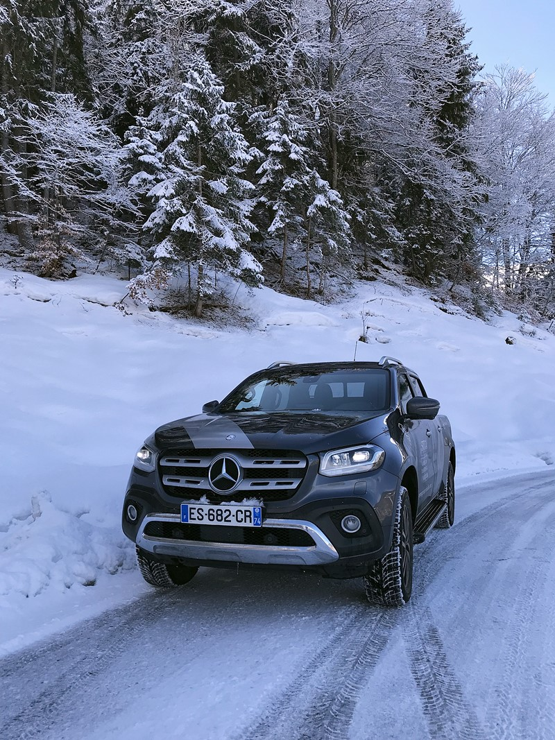 mercedes-benz classe x - meribel