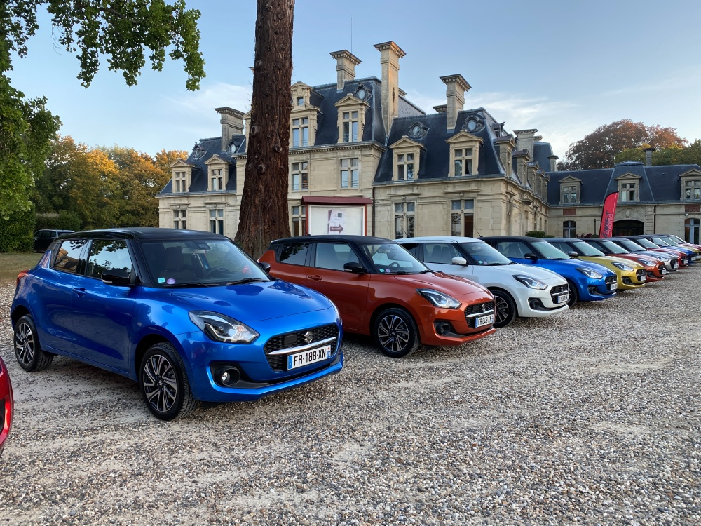 Suzuki Swift couleurs bi-ton